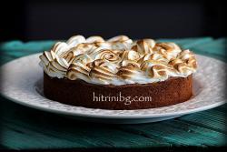 Крем торта с бисквитен блат