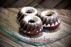 Мъфини с какао и кокос