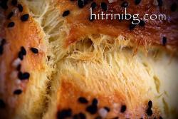 Козуначен хляб със сусам