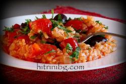 Вкусен паприкаш с ориз