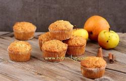 Домашни ябълкови мъфини