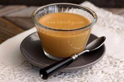 Карамелен крем - домашна рецепта