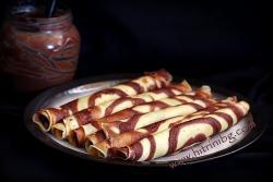Шарени палачинки - домашна рецепта