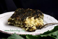 Ориз с лапад във всеки сезон