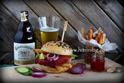 Вегетариански бургер - домашна рецепта
