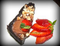 шоколадов тарт с ягоди