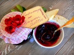 конфитюр от вишни - домашен