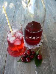 сироп от вишни - лесна рецепта