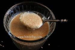 Сусамов тахан - домашна рецепта