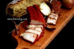 Паприкована сланина - домашна рецепта