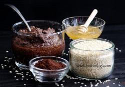 Шоколадов тахан - домашна рецепта
