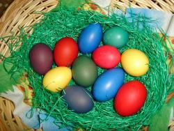 яйца за Великден- декорация