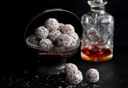 Веган бонбони със сушени плодове