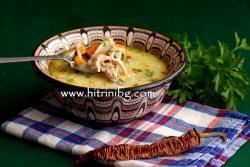 Супа от заешко месо с ароматна подправка