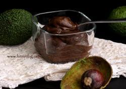 Крем от авокадо с какао