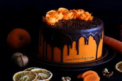 Морковена торта с крем сирене