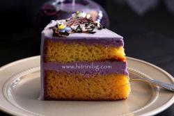 Торта Пролет с аромат на виолетки